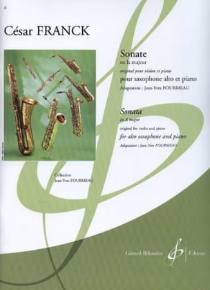 César Franck - Sonate En la Majeur (Violon) - Partition - di-arezzo.fr