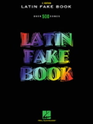 - Latin Fake Book In C Edition - Sheet Music - di-arezzo.co.uk
