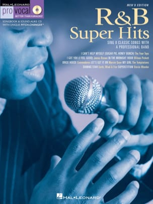 Pro Vocal Men's Edition Volume 6 - R&B Super Hits laflutedepan