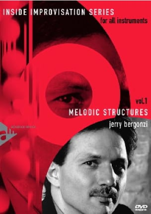 Jerry Bergonzi - DVD - Volume 1 - Melodic Structures - Sheet Music - di-arezzo.com
