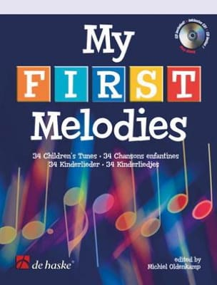 My First Melodies - Michiel Oldenkamp - Partition - laflutedepan.com