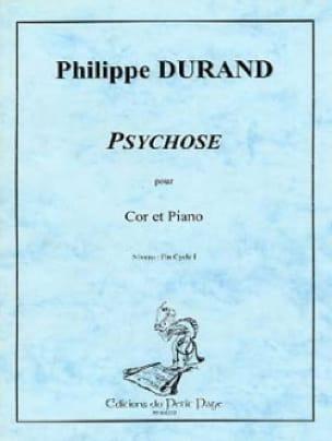 Philippe Durand - Psychose - Partition - di-arezzo.fr