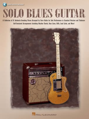 Dave Rubin - Solo Blues Guitar - Sheet Music - di-arezzo.co.uk