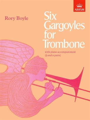 Rory Boyle - Six Gargoyles For Trombone - Partition - di-arezzo.fr