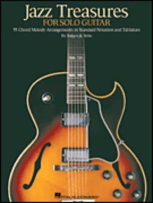 Jazz Treasure For Solo Guitar - Partition - laflutedepan.com