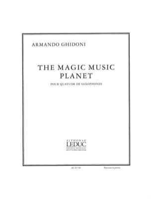 Armando Ghidoni - The Magic Music Planet - Partition - di-arezzo.fr