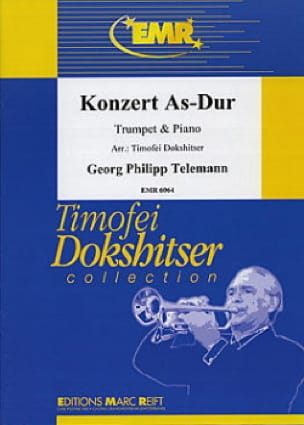 Konzert As-Dur - Georg Ph Telemann - Partition - laflutedepan.com