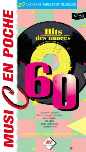 - Music in your pocket N ° 50 - Hits from the 60s - Sheet Music - di-arezzo.com