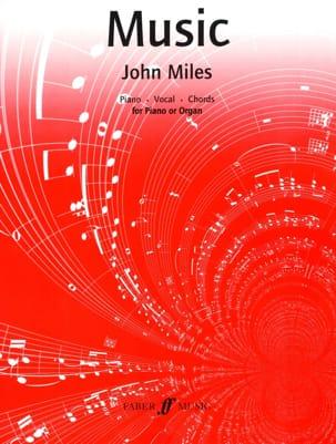 Music - John Miles - Partition - laflutedepan.com