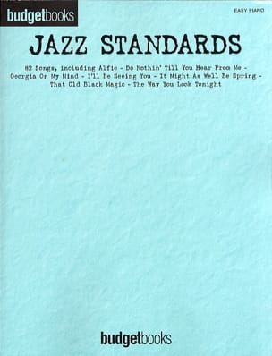 - Budget books - Standard Jazz - easy piano - Sheet Music - di-arezzo.co.uk