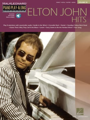 Elton John - Play-Along Piano Volume 30 - Elton John Hits - Partition - di-arezzo.co.uk