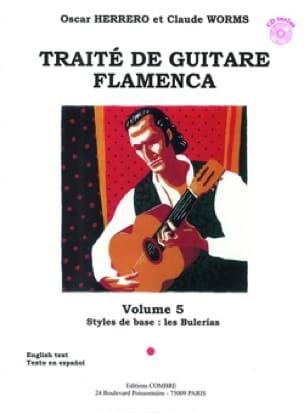 Herrero Oscar / Worms Claude - Flamenco Guitar Treatise Volume 5 - Sheet Music - di-arezzo.co.uk