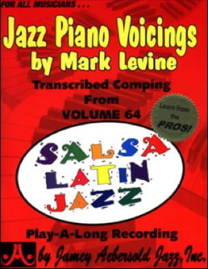 Jazz Piano Voicing Volume 64 METHODE AEBERSOLD Partition laflutedepan