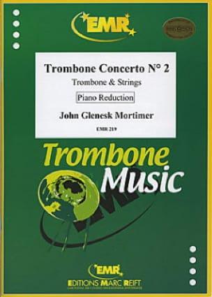 Trombone Concerto N° 2 John Glenesk Mortimer Partition laflutedepan
