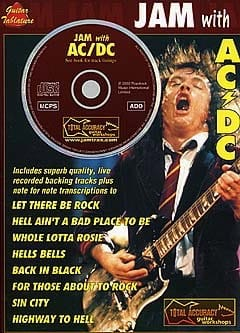 Jam With... AC/DC - AC-DC - Partition - laflutedepan.com
