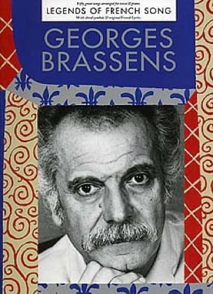 Georges Brassens - Legends Of French Song - Partition - di-arezzo.fr