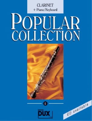 Popular collection volume 8 Partition Clarinette - laflutedepan