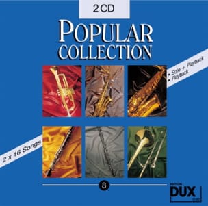 CD Popular collection volume 8 - Partition - di-arezzo.fr