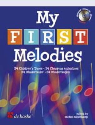 Michiel Oldenkamp - My First Melodies - Partition - di-arezzo.fr