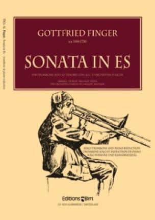 Sonata In Es - Gottfried Finger - Partition - laflutedepan.com