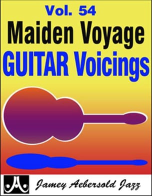 METHODE AEBERSOLD - Guitar Voicings Volume 54 - Erste Reise - Noten - di-arezzo.de