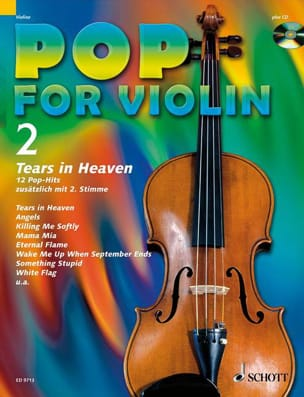 - Pop for Violin Volume 2 - Tears In Heaven - Partition - di-arezzo.fr