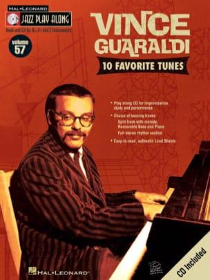 Vince Guaraldi - Jazz play-along volume 57 - Vince Guaraldi - Partition - di-arezzo.fr
