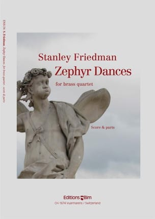 Stanley Friedman - Zephyr Dances - Partition - di-arezzo.fr