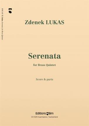 Zdenek Lukas - Serenata - Partition - di-arezzo.fr