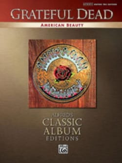 American Beauty - Grateful Dead - Partition - laflutedepan.com