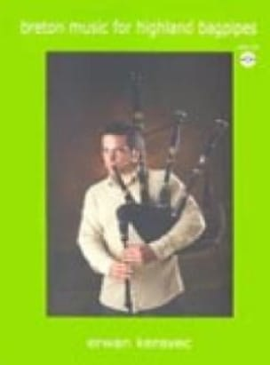 Erwan Keravec - Breton Music For Highland Bagpipes - Partition - di-arezzo.fr