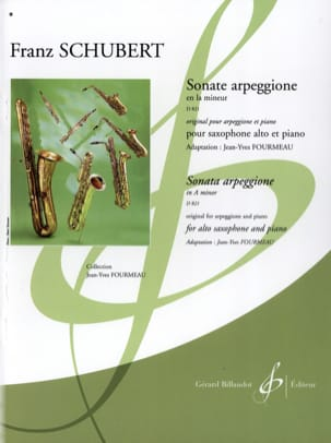 SCHUBERT - Sonata Arpeggione In the Minor D 821 - Sheet Music - di-arezzo.co.uk