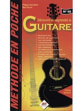 Heuvelinne Philippe / Rouvé Marc - Music en poche N° 48 - Guitare - Méthode En Poche - Partition - di-arezzo.fr