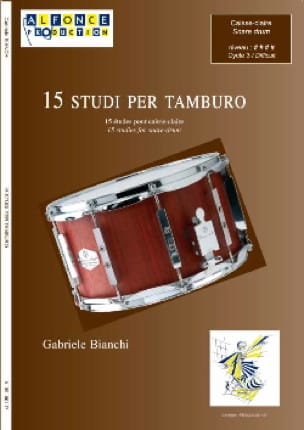 Gabriele Bianchi - 15 Studies for snare drum - Sheet Music - di-arezzo.com