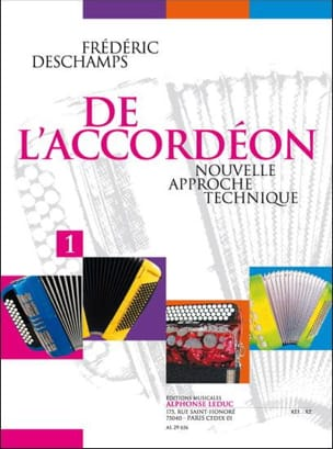 Frédéric Deschamps - Of the accordion - Volume 1 - Sheet Music - di-arezzo.co.uk