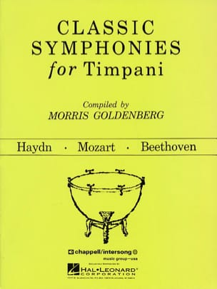 Classic Symphonies For Timpani - Sheet Music - di-arezzo.com
