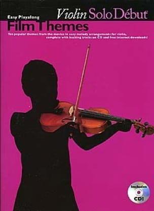 Violin Solo Début Film Themes - Partition - di-arezzo.fr