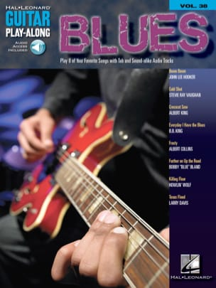 - Guitar Play-Along Volume 38 - Blues Guitar - Partition - di-arezzo.fr