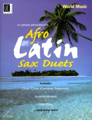 Afro Latin Sax Duets - Partition - di-arezzo.co.uk
