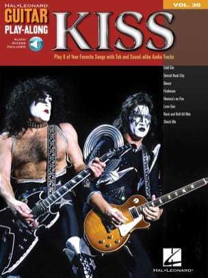 Guitar Play-Along Volume 30 - Kiss Kiss Partition laflutedepan