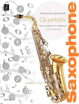 James Rae - Introducing Saxophone Quartets - Partition - di-arezzo.fr