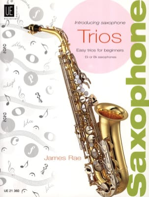 Introducing Saxophone Trios - James Rae - Partition - laflutedepan.com