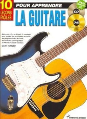 Gary Turner - 10 Easy Lessons To Learn Guitar - Sheet Music - di-arezzo.co.uk