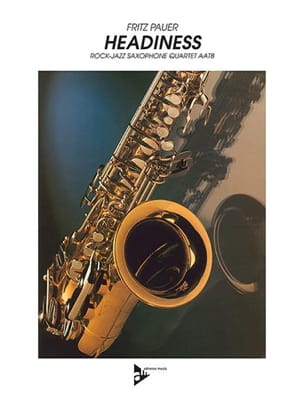 Headiness Fritz Pauer Partition Saxophone - laflutedepan