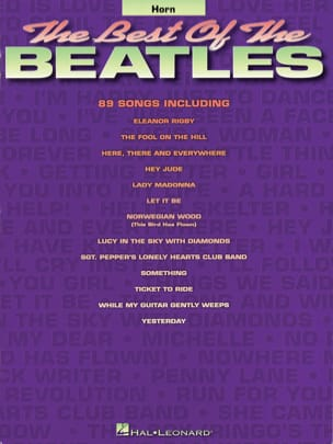 BEATLES - The best of the Beatles - Partition - di-arezzo.fr