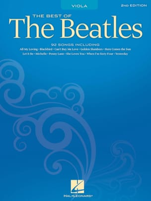 BEATLES - The Best Of The Beatles For Viola - Sheet Music - di-arezzo.co.uk
