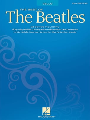 BEATLES - The Best Of The Beatles For Cello - Sheet Music - di-arezzo.com