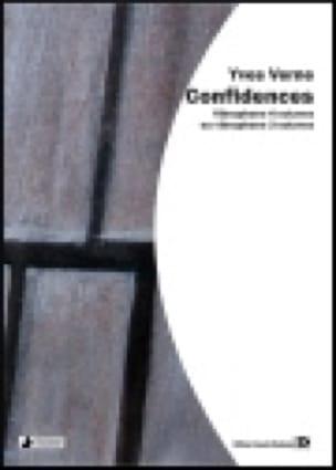 Confidences - Yves Verne - Partition - Vibraphone - laflutedepan.com
