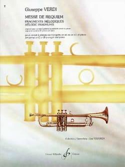 Giuseppe Verdi - Messe de Requiem - Partition - di-arezzo.fr