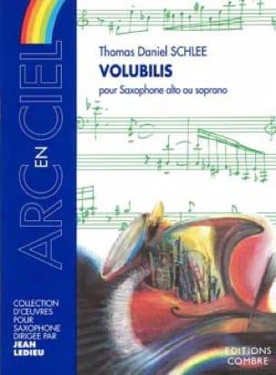 Thomas Daniel Schlee - Volubilis - Partition - di-arezzo.fr